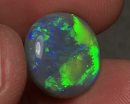 8.83ct Lightning Ridge Gem Dark Opal LRS563