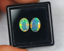 NR#  1.89Ct Ethiopian Welo Faceted Opal Lot LW241