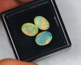 NR#  2.50Ct Ethiopian Welo Faceted Opal Lot LW255