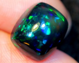 3.47ct Rolling Flash Ethiopian Welo SMOKED Polished Opal