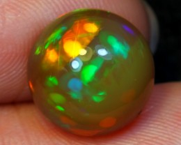3.65ct Floral Ethiopian Welo Polished Opal