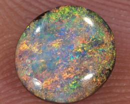 1.1ct 7x6.5mm Queensland Boulder Opal  [LOB-1874]