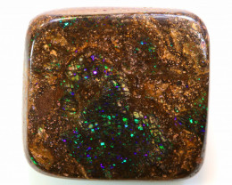 Boulder Opal Cut Stone 31.50cts  AB40