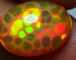 5.35 CRT PERFECT HONEYCOMB GOLDEN FIRE DELUXE COLOR WELO OPAL-