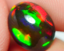1.55 CRT STUNNING RED NEON FLASH MULTICOLOR SMOKED WELO OPAL-