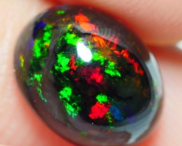 2.10 CRT BEAUTY FLORAL SMOKEDPATTERN MULTICOLOR SMOKED WELO OPAL-