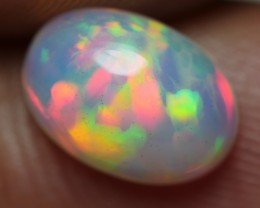 1.20 CRT BRILLIANT RED LASER MULTICOLOR BEAUTY WELO OPAL