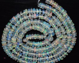 25.10 Ct Natural Ethiopian Welo Opal Beads Play Of Color