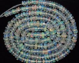 25.20 Ct Natural Ethiopian Welo Opal Beads Play Of Color
