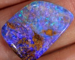 11.9ct 19x13mm Pipe Wood Fossil Boulder Opal  [LOB-1884]