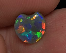 1.42ct Lightning Ridge Gem Dark Opal LRS317