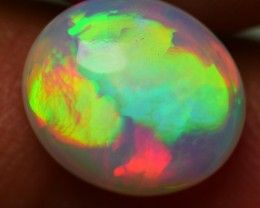 2.35 CRT STUNNING RAINBOW PRISM NEON FIRE WELO OPAL