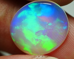 2.50 CRT CRYSTAL CLEAR BROADFLASH PATTERN BEAUTY COLOR WELO OPAL-