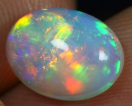 WHOLESALE - 2.70cts Strong & Sparkling Rainbow Fire Ethiopian Opal