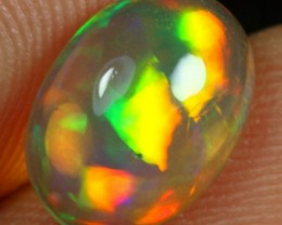 2.00cts Top Notch Neon Cascade Ethiopian Welo Solid Crystal Opal