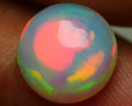 2.55 CRT BRILLIANT ROUND BROAD FLASH NEON PLAY COLOR WELO OPAL