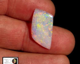 3.80 carat Super bright Mintabie crystal opal