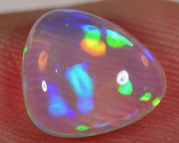 SALE - 1.5 CT WELO OPAL CABACHON - INTENSE BLUE CRYSTAL