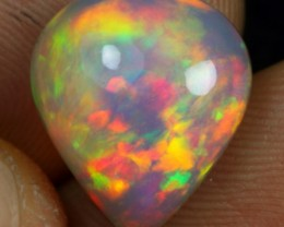 WHOLESALE - 5.20cts Astonished Broad Rainbow Fire Ethiopian Opal