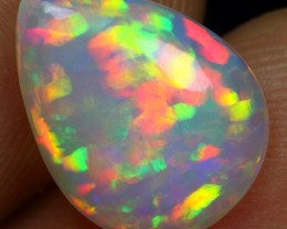 2.70cts RAINBOW PUZZLE PATTERN Natural Ethiopian Welo Opal