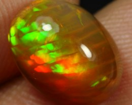 3.00cts STRIPE AND CELL HONEYCOMB  Natural Ethiopian Welo Opal