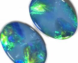 4.49 Cts parcel gem Opal Doublets  Pair SU1558