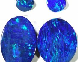 6.47 Cts parcel gem Opal Doublets  Pair SU1559
