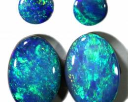 2.31 Cts parcel gem Opal Doublets  Pair SU1565