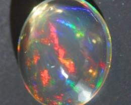 BRIGHT MEXICAN FIRE SOLID OPAL