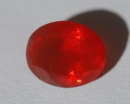 4.16ct BRIGHT MEXICAN FIRE SOLID OPAL
