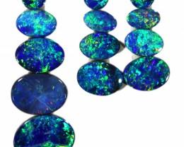 6.09 Cts parcels gem Opal Doublets SU1586