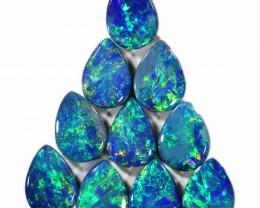 3.68 Cts parcels gem Opal Doublets SU1589
