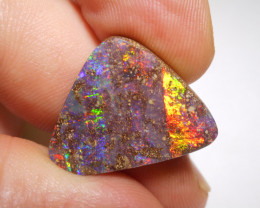 16.6ct  Boulder Opal Polished Stone