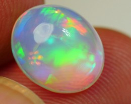 2.25 CRT CRYSTAL CLEAR HOLOGRAM BROADFLASH NEON WELO OPAL