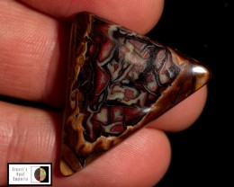 SALE 24.70 carat Koroit Boulder Opal lovely natural pattern