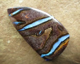 "63cts, ""BOULDER OPAL~BUY FROM THE MINER DIRECT!!!"""