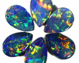 1.57 Cts calibrated parcels gem Opal Doublets SU1610