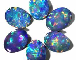4.97 Cts calibrated parcels gem Opal Doublets SU1615