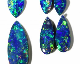 1.91 Cts parcels gem Opal Doublets SU1617