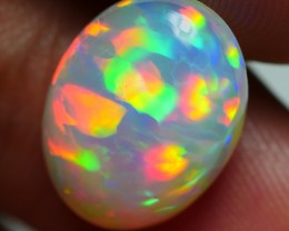 4.60 CRT WONDERFUL PUZZLE RAINBOW PRISM FIRE WELO OPAL