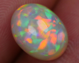 2.65 CRT BRILLIANT RAINBOW FLORAL MULTYCOLOR WELO OPAL