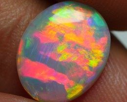 1.80 CRT WONDERFUL ROLLING FLASH LASER RED NEON FIRE WELO OPAL-
