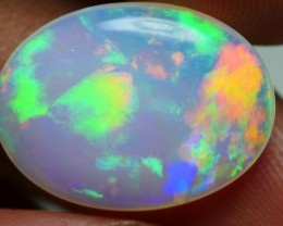 5.85 CRT BEAUTY MILKY MACKEREL PATTERN LOVELY COLOR WELO OPAL-
