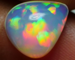 2.85 CRT BEAUTY PRISM RAINBOW PUZZLE PATTERN WELO CHAFF WELO OPAL