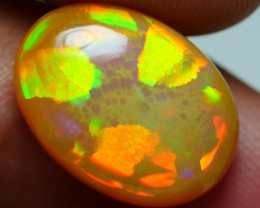 5.40 CRT WONDERFUL CARAMEL GOLDEN HONEYCOMB NEON WELO OPAL-