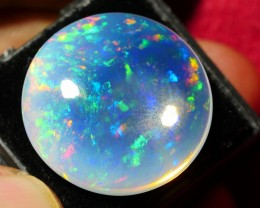 16.00 CRT CRYSTAL CLEAR HUGE ROUND BEAUTY PLAY COLOR WELO OPAL-
