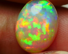 2.20 CRT BEAUTYFULY WELO CHAFF PUZZLE FLORAL FIRE MULTYCOLOR WELO OPAL