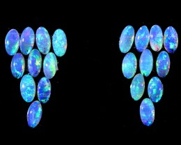 1.40CTS 20 PIECES CALIBRATED OPAL PARCEL GREAT COLOR PLAY- S614