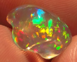 5.14ct Brilliant Mexican  Crystal/Contraluz Opal (OM)