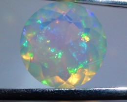 4.20 ct $1 NR Natural Gem Rainbow Welo Facet M225